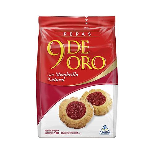 Vanilla cookies filled with quince jam galletitas rellenas con membrillo 9 de oro