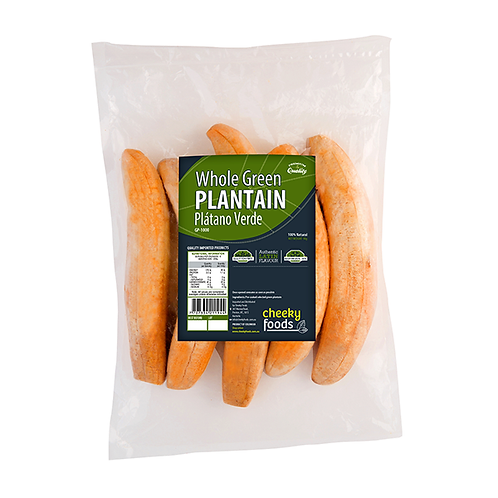 Green plantain, platano verde entero colombian food buy tienda pachamama nuew zealand
