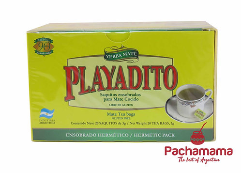 Playadito mate cocido (tea bags)