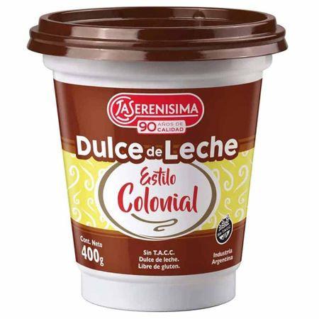 Dulce de Leche La Serenisima Colonial