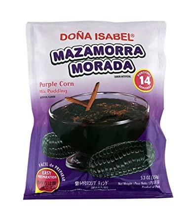 Mazamorra Morada Dona Isabel