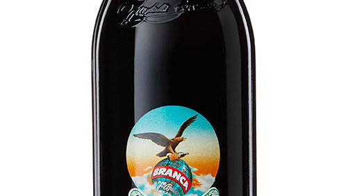 Bottle of fernet branca menta 450cc 0.45L