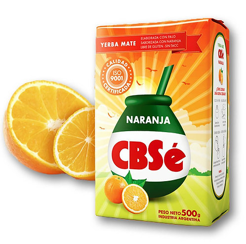 Yerba mate cbse orange naranja 500g pack buy from tienda pachamama latino store new zealand
