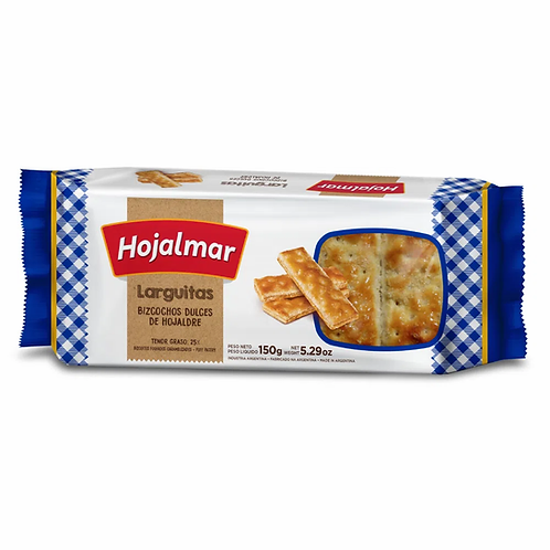Sweet bisquits Hojalmar galletitas hojalmar hojaldre largas 150g argentina new zealand pachamama