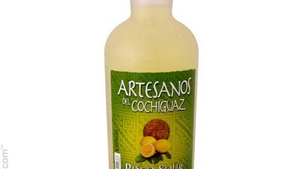 Pisco Sour cocktail Artesanos del Cochiguaz