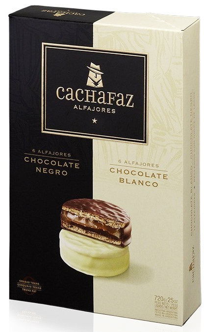 Alfajor Cachafaz Mixto x 12
