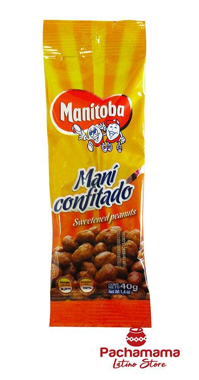 Maní Confitado (Sweetened Peanuts)