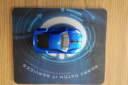Sports car Wireless Mouse Dark Blue