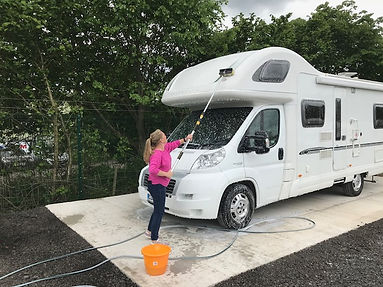 Caravan Storge Mansfield Alfreton Wash