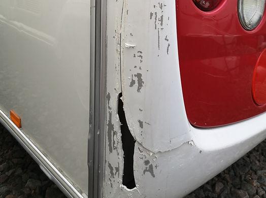 Caravan Accident Repair Mansfield