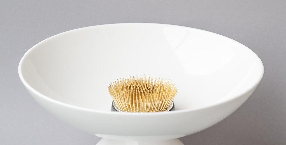 Japanese Ikebana Vase-In-White porcelain