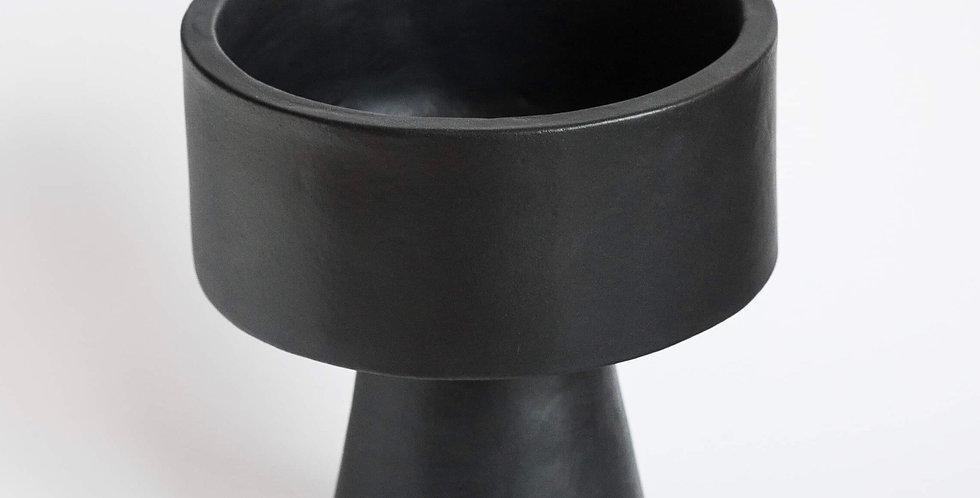 Japanese Ikebana Vase-Dzen-Black