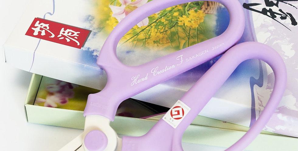 Japanese Floral Scissors-Lavender-F170