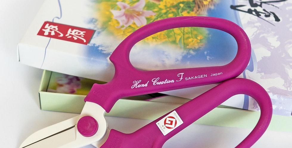 Japanese Floral Scissors- Violet -F170