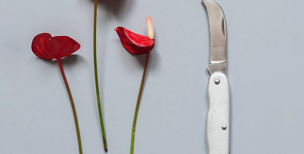 Florist japanese knife Sakagen SILVER
