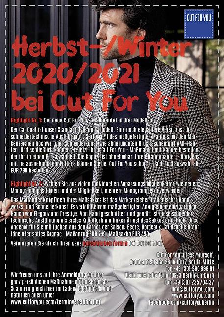 Herbst Winter Mode 2020
