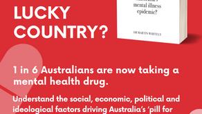 New book 'Overprescribing Madness - What's driving Australia's epidemic of mental illness.'