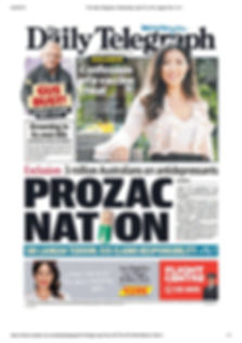 Prozac nation. Daily Telegraph.  24.04.1