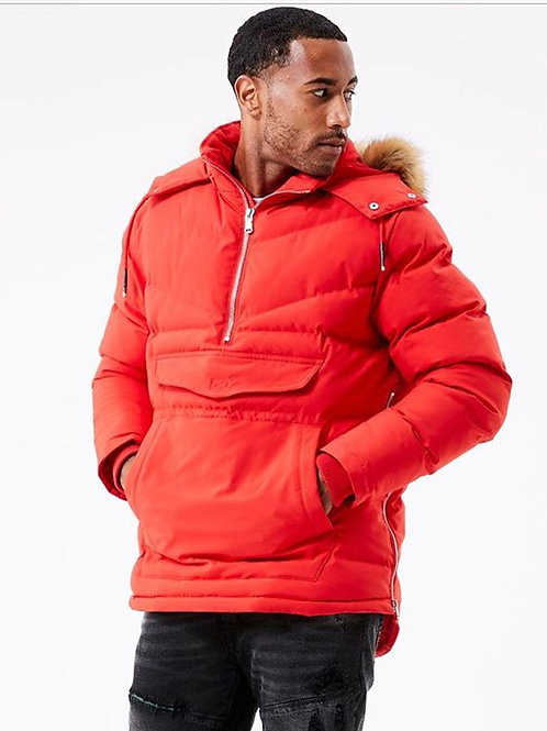 Men's Bubble jacket with fur