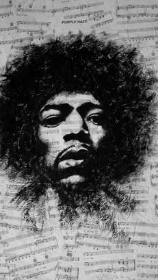 Jimi Hendrix - Pop Art - FOR SALE