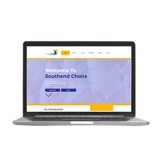 choirs website wix case study