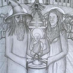 Odin, Medusa and the Baby Buddha (2020)