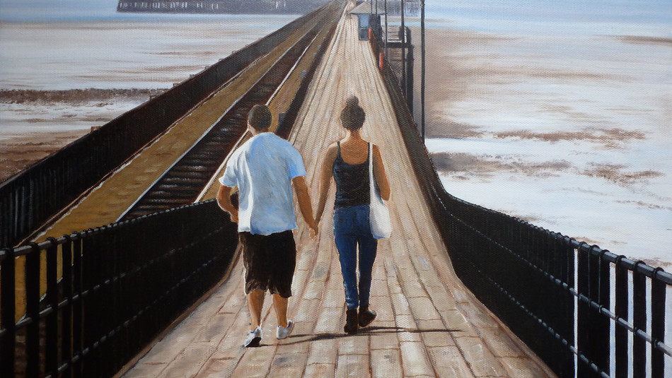 Lovers Stroll - SOLD
