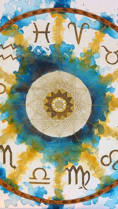 Horoscope Circle - SOLD