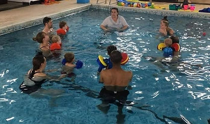engaging swimming classes