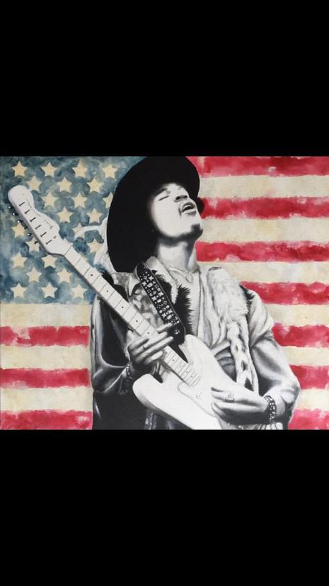 Jimi Hendrix - Pop Art - COMMISSIONED WORK