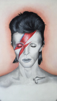 David Bowie - Oils - COMMISSIONED WORK