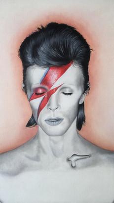 David Bowie - Oils - COMMISSION sold