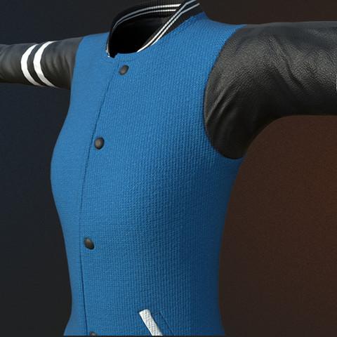 Letterman coat