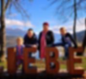 Ferienwohnung SEE:BLICKWEG Familie Lassnig, Stefanie, Christian, Timo und Nina