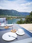 Sonnen-Terrasse mit wunderschönen Blick über den Millstätter See