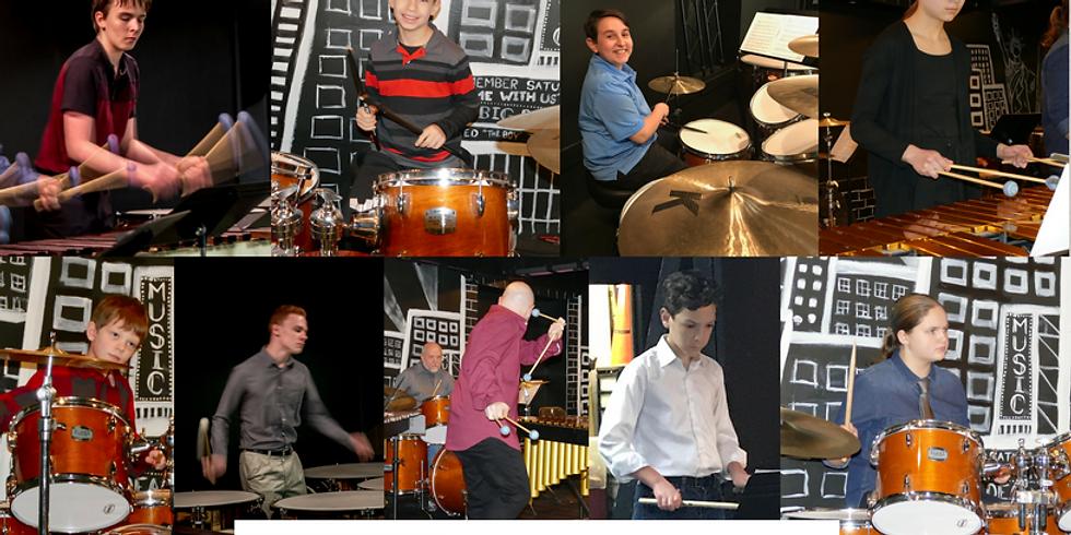 Spring 2018 Percussion Ensemble Concert