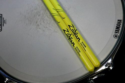 Zildjian 5A Acorn Neon Yellow Drumsticks