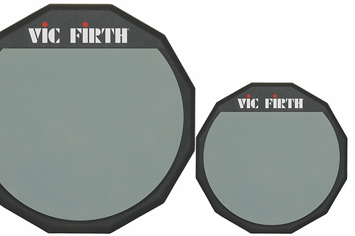 """Vic Firth Single Sided Practice Pad, 12"""" - PAD12"""