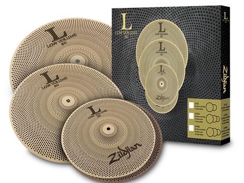 "Zildjian L80 Low Volume Cymbal Pack - 14/16/18"" - LV468"