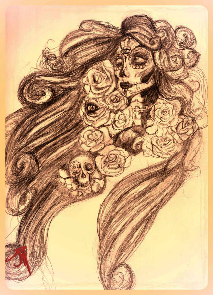 """Jackoblyn, The Sugar Skull Maiden"""