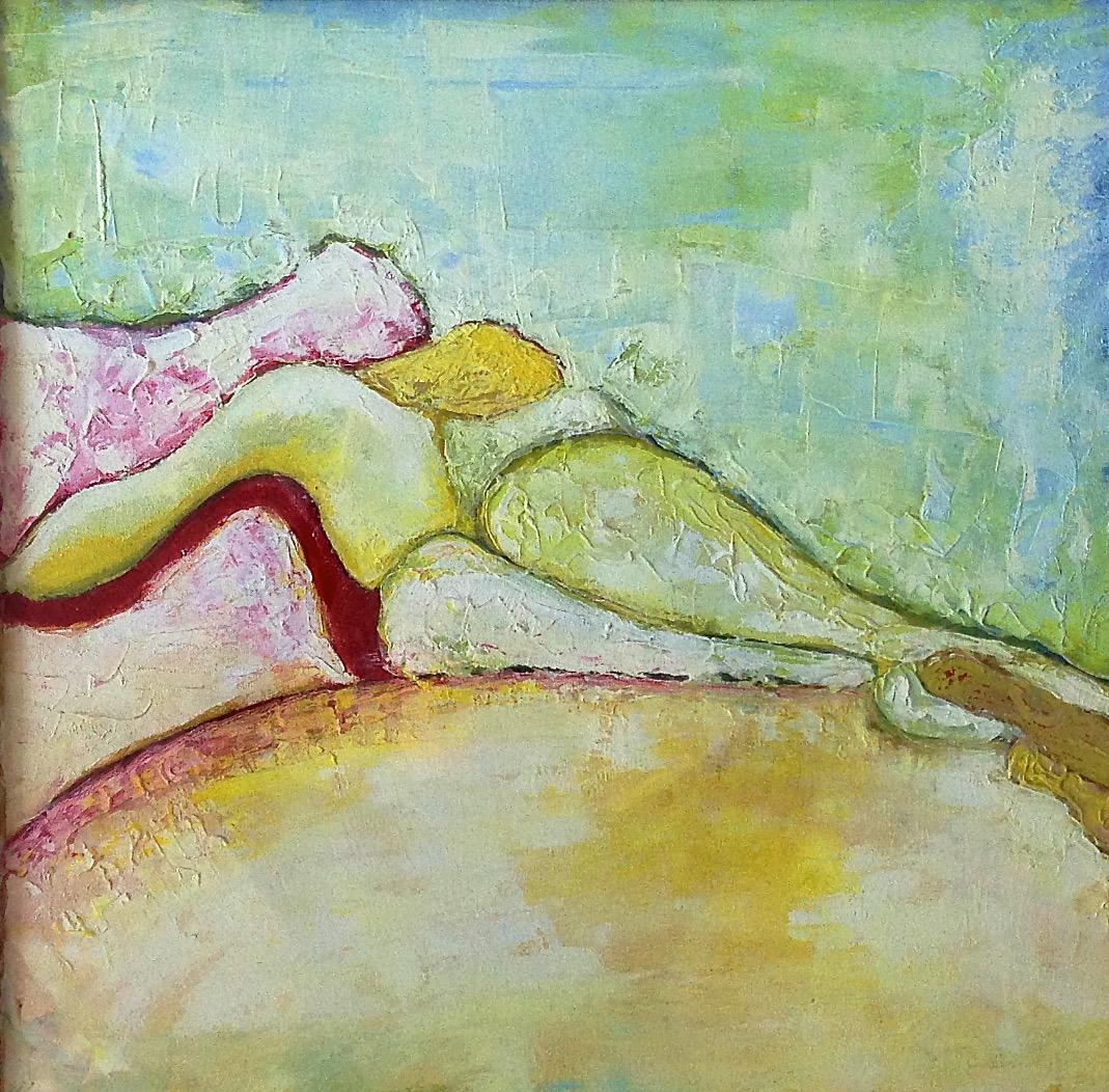 Femme paysage