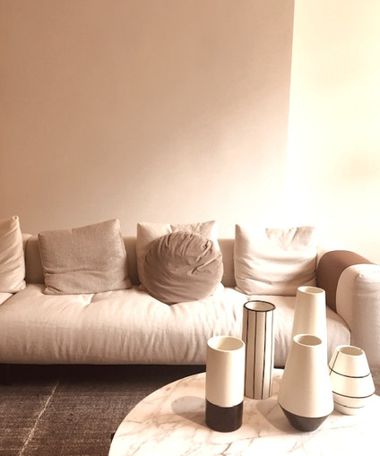 Soft Neutral Sitting Area