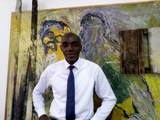 Lauréat poésie : Henri N'koumo (Côte d'Ivoire) pour « Poèmes sauvages éclairés au feu de brousse »