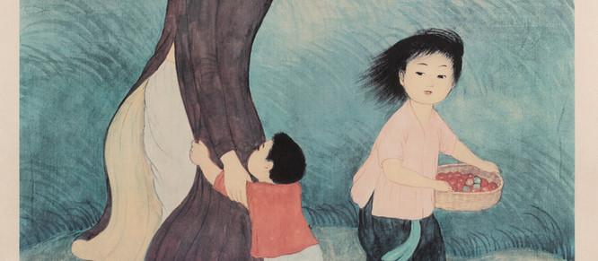 Peinture : l'univers poétique de Mai-Thu