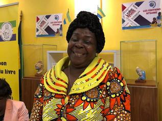 Lauréat écrivain femme : Honorine Ngou (Gabon) pour ensemble de son œuvre