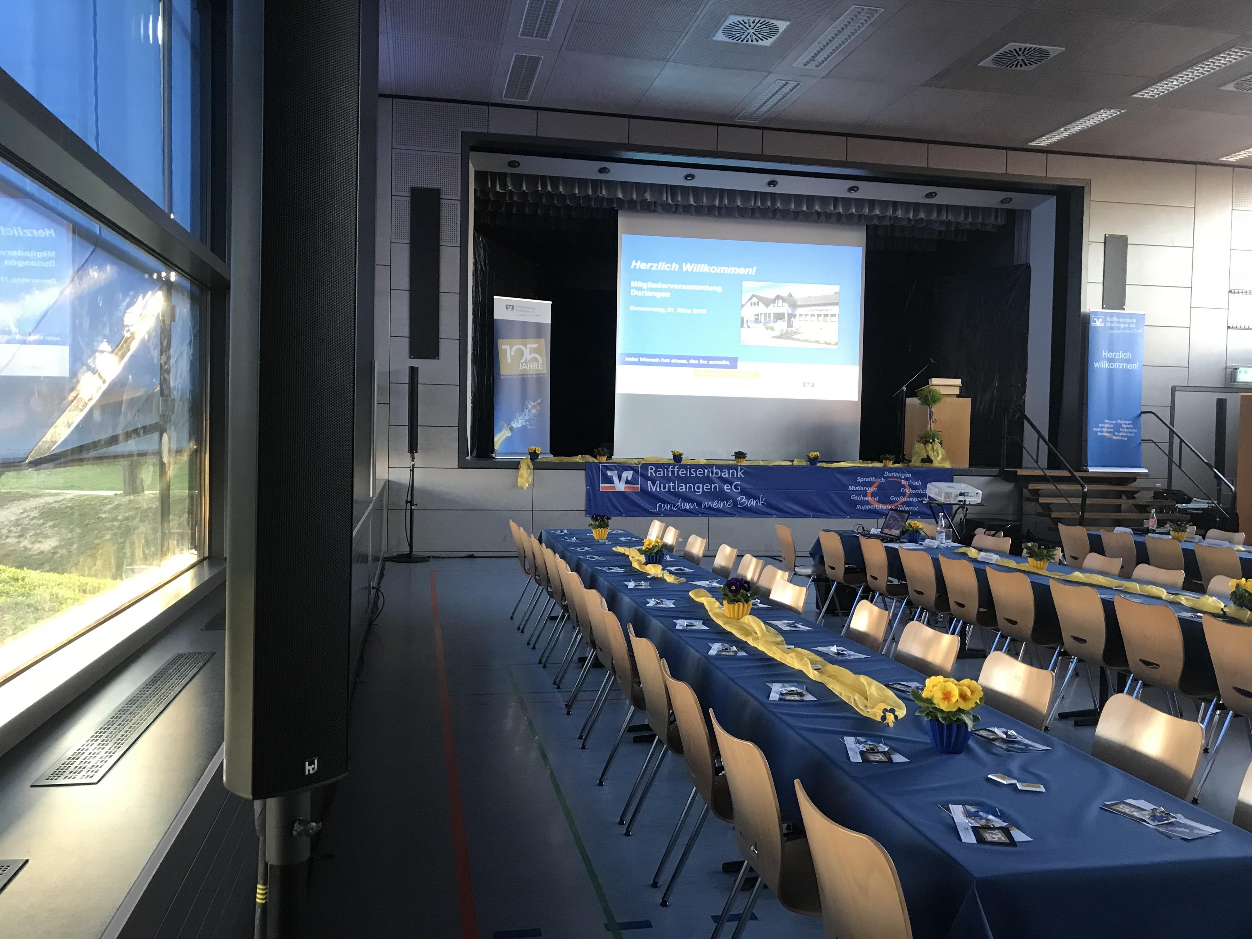 Reiffeisenbank | Meier Eventservice