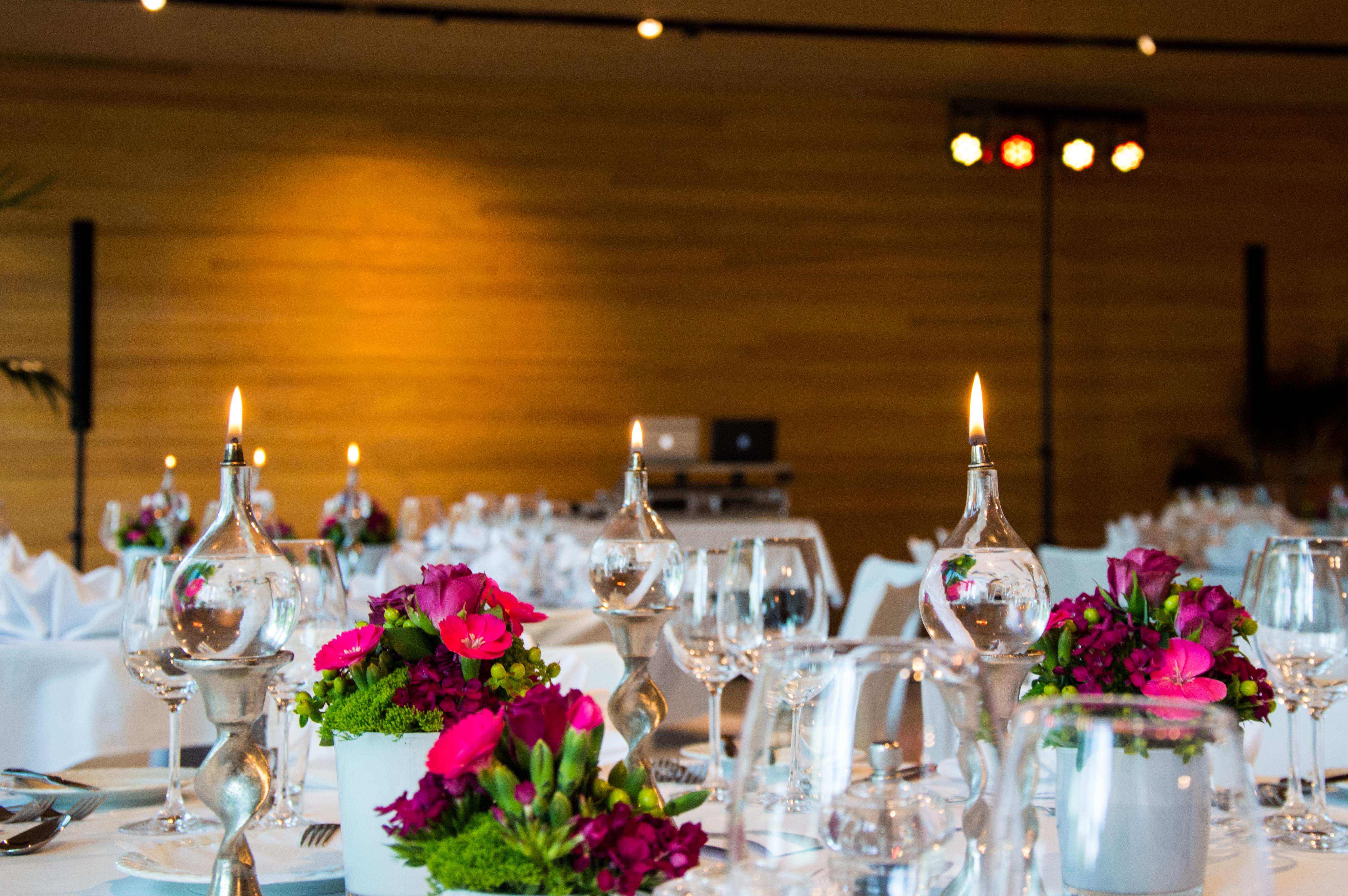 Hochzeitsaufbau Eventservice Meier