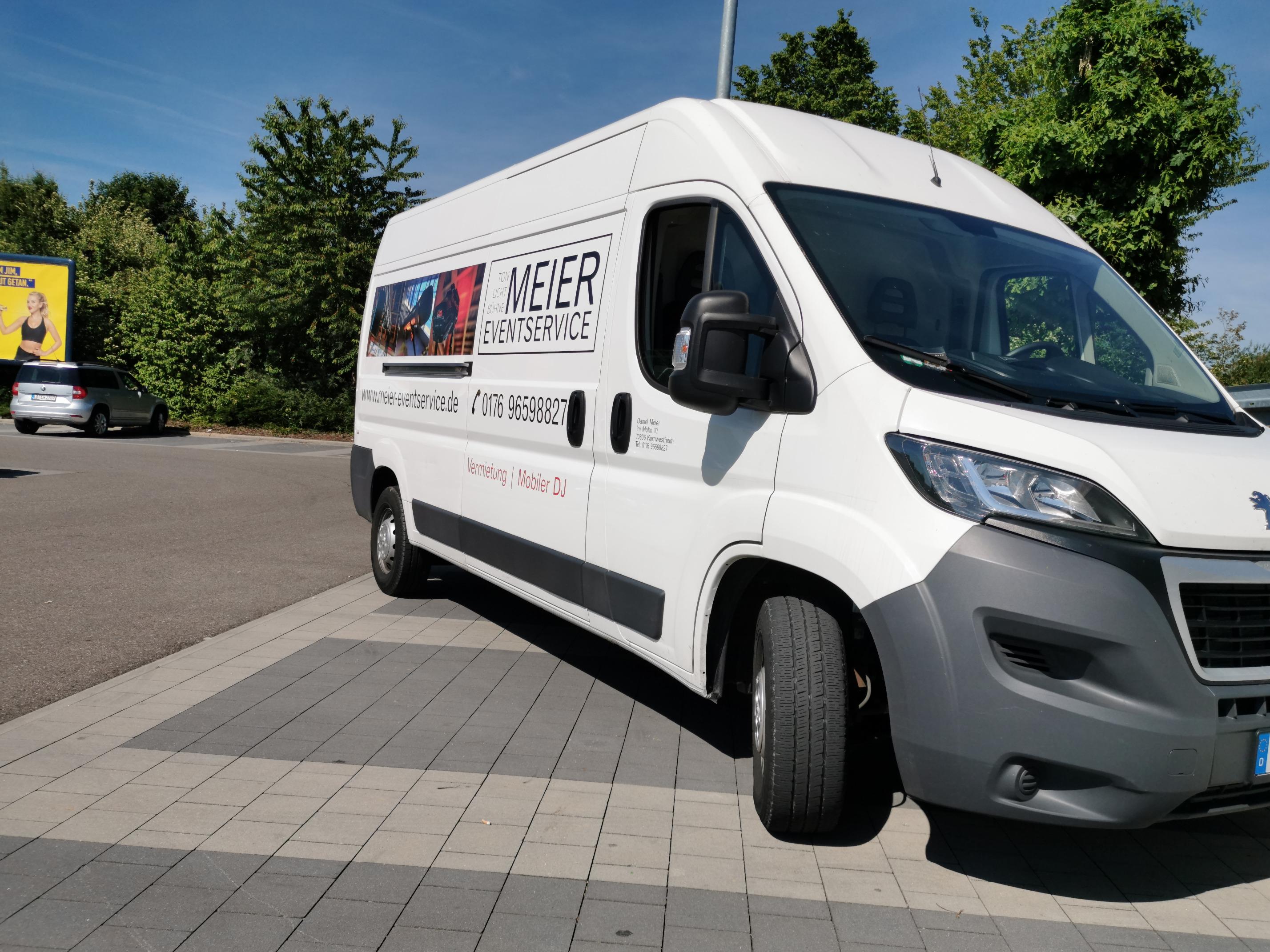 Peugeot Boxer | Meier Eventservice