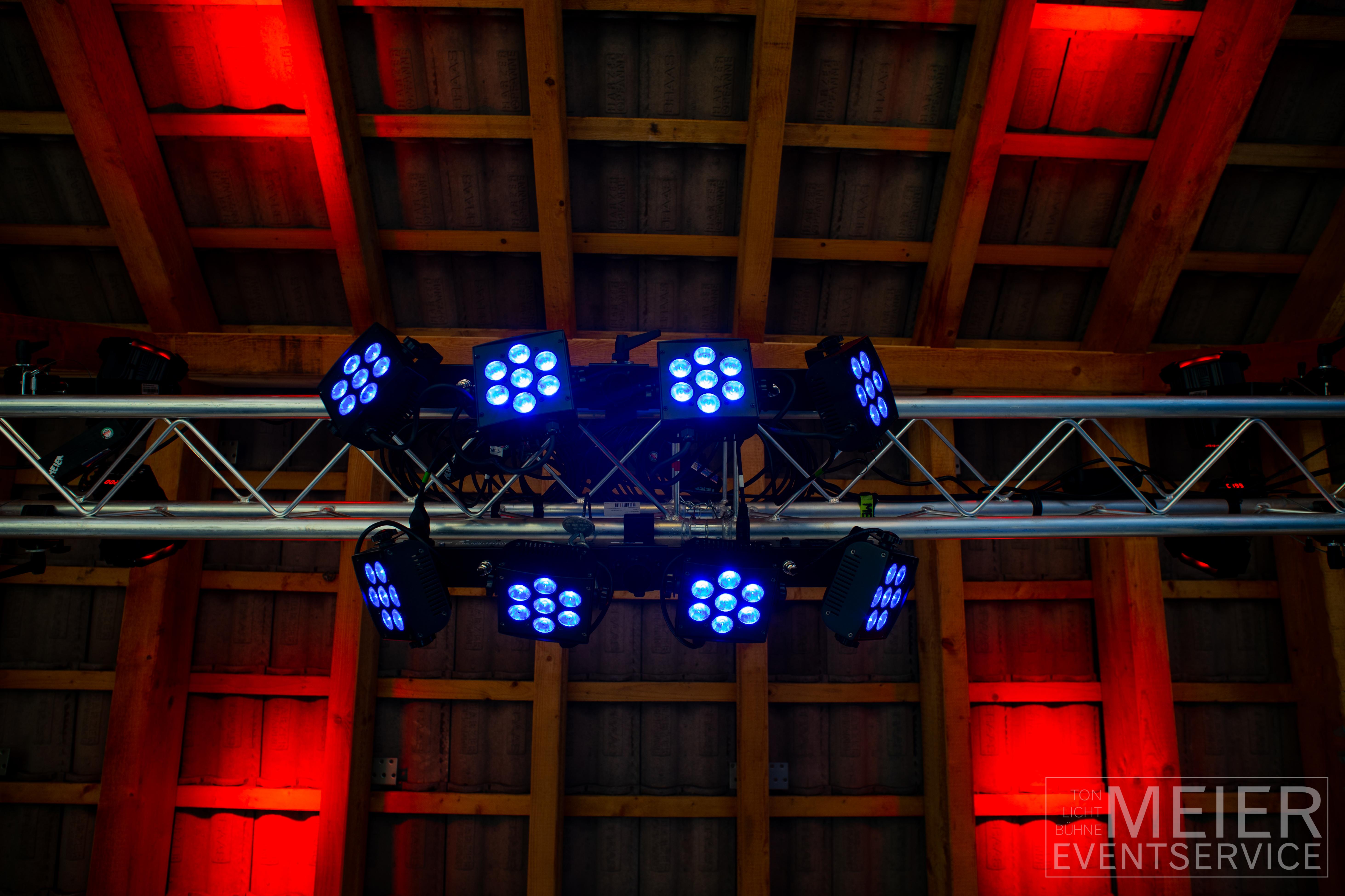Lichttechnik, Led Beleuchtung, Partybeleuchtung