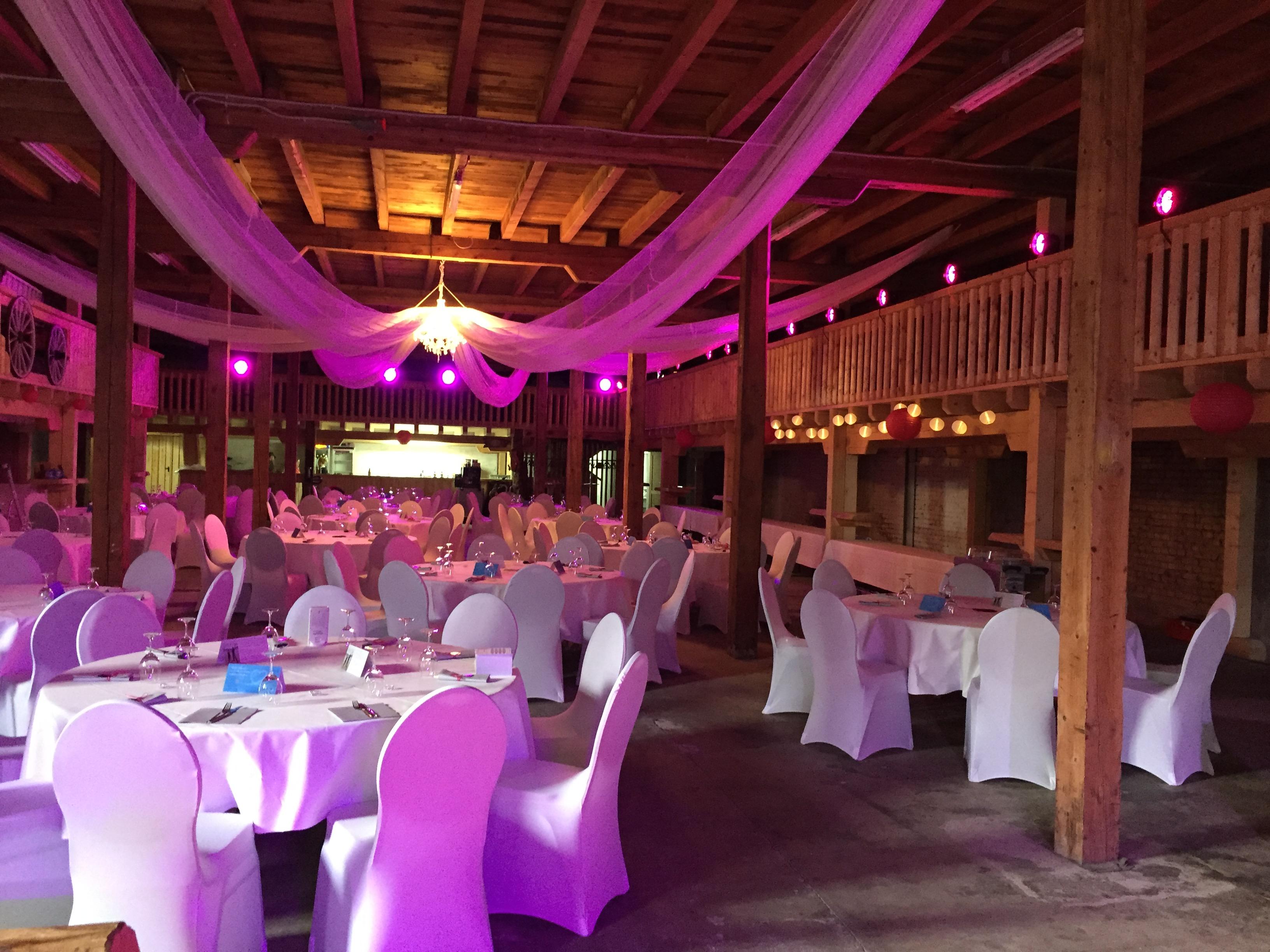 Ambiente-Beleuchtung Hochzeit 1